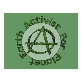Earth Activist Postcard