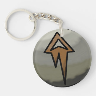 Earth Affinity Double Sided Keychain