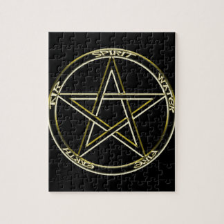 Earth, Air and Fire Pentagram Puzzles