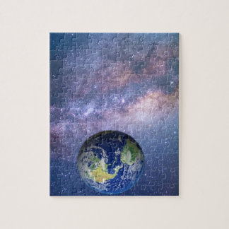 Earth and Galaxy - Picture puzzle