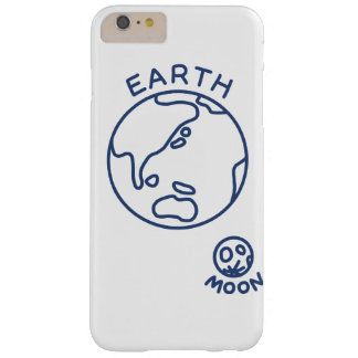 < Earth and month (cobalt) > The earth and the moo Barely There iPhone 6 Plus Case