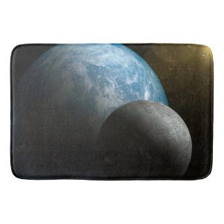 Earth And Moon Bathmat