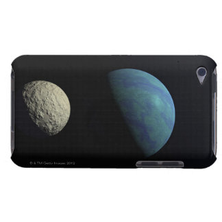Earth and moon iPod touch case