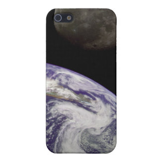 Earth and Moon iPhone 5/5S Cases