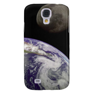 Earth and Moon Samsung Galaxy S4 Case