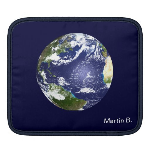 Earth and periodic table of elements. MacBook sleeve