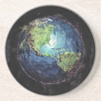 Earth And Space Drink Coaster
