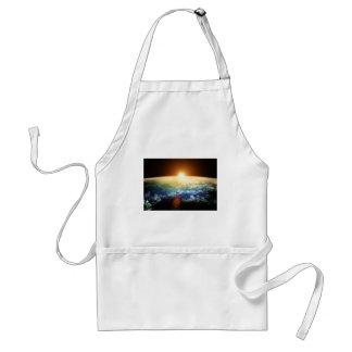 earth and sun apron