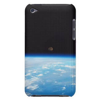 Earth and the Moon Barely There iPod Case