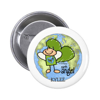 Earth Angel - Go Green Buttons