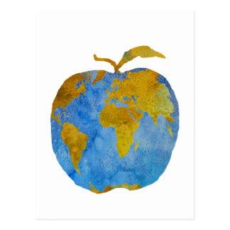 Earth Apple Postcard