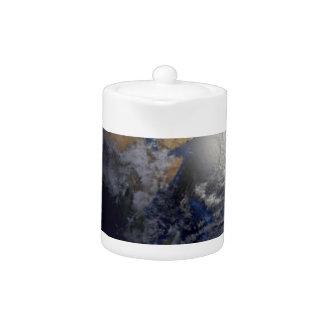earth art blue