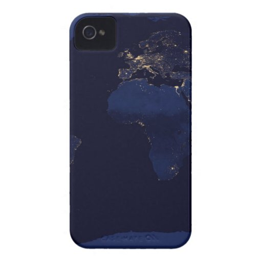 Earth At Night Case-Mate iPhone 4 Cases