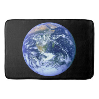 Earth Blue Marble Bath Mat