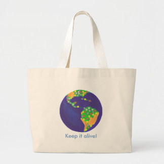 Earth bouquet - Keep it alive Earth Day bags