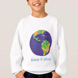 Earth bouquet - Keep it alive earth day sweatshirt