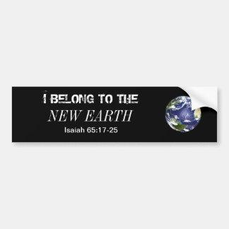 earth bumper stickers