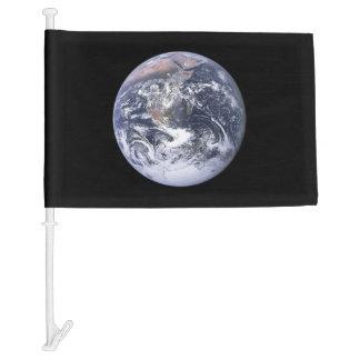 EARTH CAR FLAG