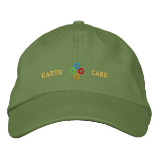 Earth Care - Embroidered Hat