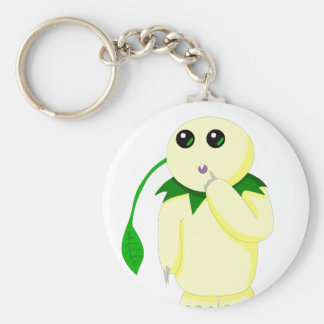 Earth Child Collection Basic Round Button Key Ring