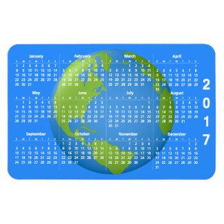 Earth Classic 2017 Calendar Magnet