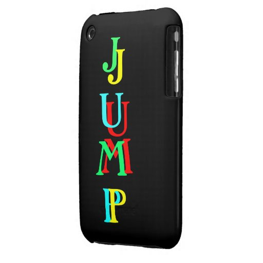 Earth Collections Jump iCases for Blackberry iPhone 3 Case