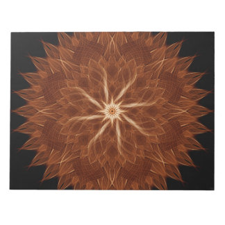 Earth Curves Mandala Notepads