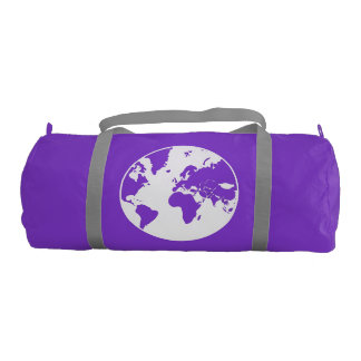 Earth  / Custom Duffle Gym Bag