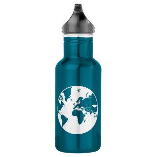 Earth / Custom Water Bottle (532 ml), Stainless
