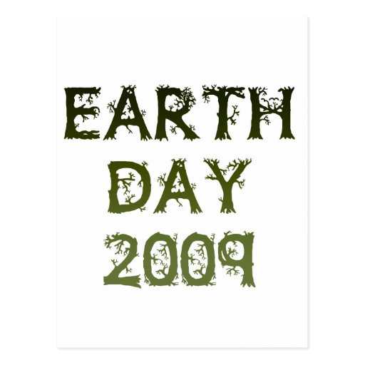 Earth Day 2009 Postcard