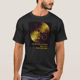 Earth Day 2012 - Sounds of Earth T-Shirt