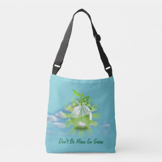 Earth Day All-Over-Print Cross Body Bag