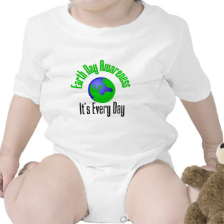 Earth Day Awareness Every Day Bodysuit