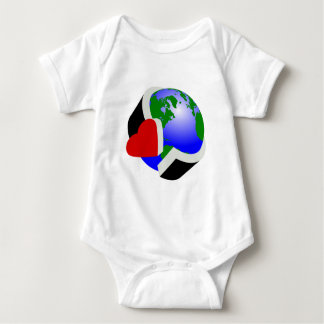 Earth Day Baby Bodysuit