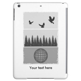 Earth Day Black And White Cover For iPad Air