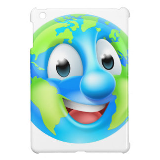 Earth Day Cartoon Character iPad Mini Covers