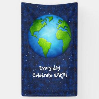 Earth Day Celebration Banner