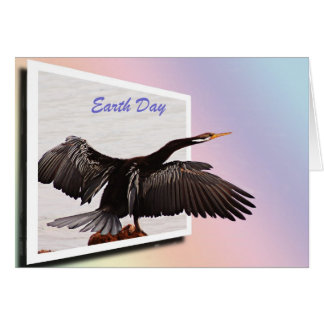 Earth Day -  Darter Greeting Card