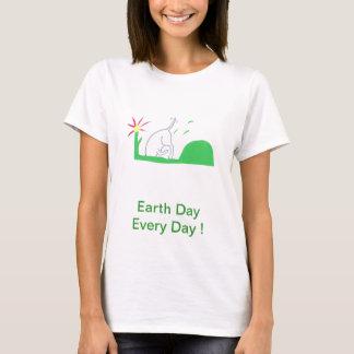 Earth Day Dog Digging T-Shirt