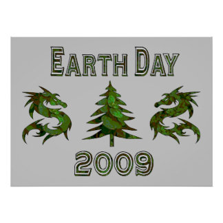Earth Day Dragons 2009 Posters