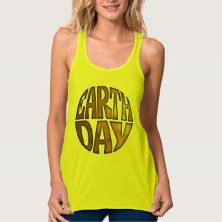 Earth Day eco awarenes ladies' tank top or t-shirt