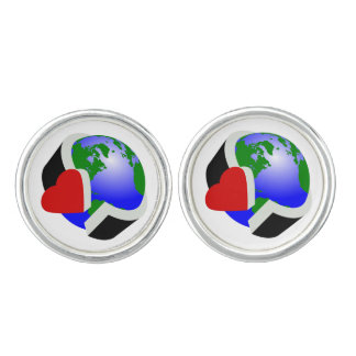 Earth Day Environmental Protection Cufflinks