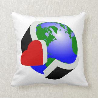 Earth Day Environmental Protection Throw Pillow