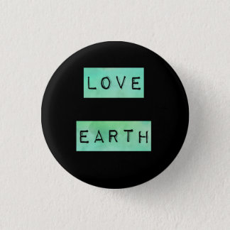 Earth Day Environmentalist Eco Gift 3 Cm Round Badge