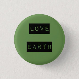 Earth Day Environmentalist Eco Gift Shirts 3 Cm Round Badge