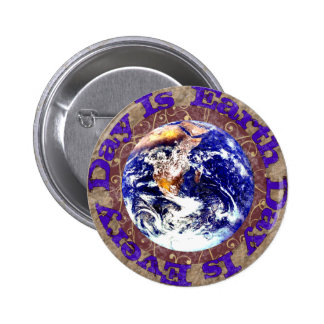 Earth Day Every Day Pin