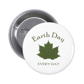 Earth Day Every Day Buttons