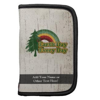 Earth Day Every Day, Retro Rainbow Folio Planner