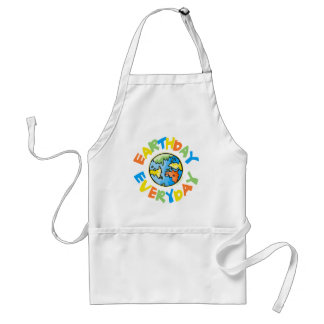Earth Day Every Day Standard Apron
