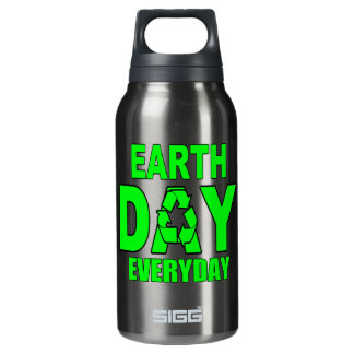 Earth Day Everyday 0.3L Insulated SIGG Thermos Water Bottle